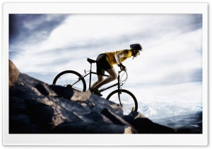Bicyclist HD Wide Wallpaper for Widescreen