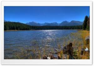 Bierstadt Lake, Rocky Mountain National Park, Colorado HD Wide Wallpaper for Widescreen