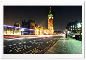 Big Ben, London HD Wide Wallpaper for Widescreen