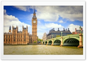 Big Ben View HD Wide Wallpaper for Widescreen