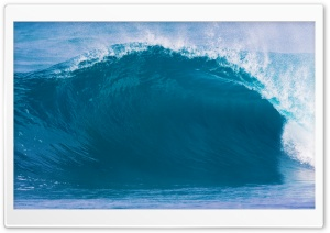 Big Blue Wave HD Wide Wallpaper for Widescreen