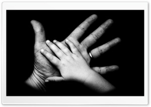 Big Hand Small Hand HD Wide Wallpaper for Widescreen