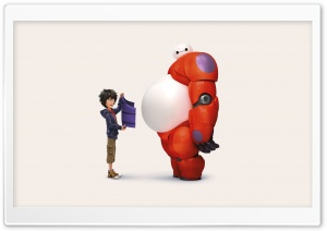 Big Hero 6 HD Wide Wallpaper for Widescreen