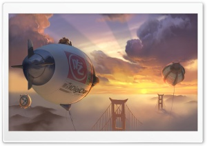 Big Hero 6 2014 HD Wide Wallpaper for Widescreen