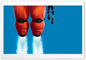 BIG HERO 6 2014 Film HD Wide Wallpaper for Widescreen