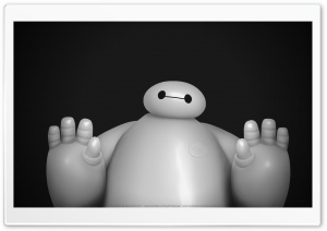 Big Hero 6  Baymax HD Wide Wallpaper for Widescreen