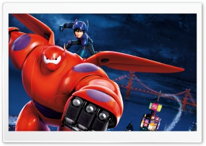 Big Hero 6 Disney HD Wide Wallpaper for 4K UHD Widescreen desktop & smartphone