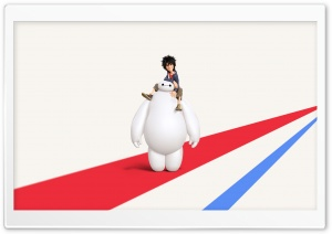 Big Hero 6 Disney Hiro and Baymax HD Wide Wallpaper for Widescreen