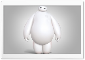 Big Hero 6 Movie Baymax HD Wide Wallpaper for Widescreen