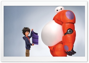 Big Hero Six HD Wide Wallpaper for Widescreen