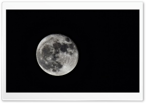 Big Moon HD Wide Wallpaper for Widescreen