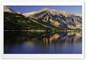 Big Mountain Lake HD Wide Wallpaper for Widescreen