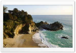 Big Sur, Julia Pfeiffer Burns State Park HD Wide Wallpaper for Widescreen
