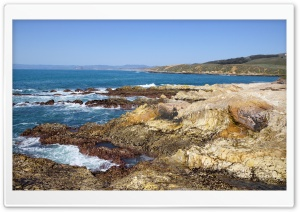 Big Sur, Montana De Oro State Park HD Wide Wallpaper for Widescreen