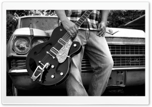 Bigsby Guitar HD Wide Wallpaper for Widescreen