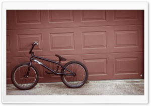 Bike On A Wall HD Wide Wallpaper for Widescreen