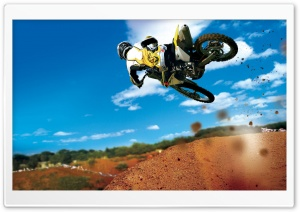 Bike Stunt HD Wide Wallpaper for Widescreen
