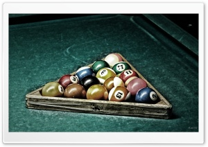Billiard HD Wide Wallpaper for Widescreen