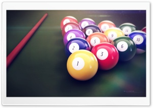 Billiards HD Wide Wallpaper for Widescreen