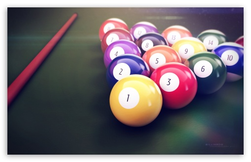 Download Billiards UltraHD Wallpaper