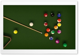 Billiards HD Wide Wallpaper for 4K UHD Widescreen desktop & smartphone