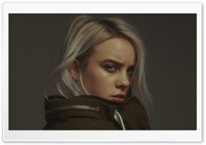 Billie Eilish Ultra HD Wallpaper for 4K UHD Widescreen desktop, tablet & smartphone