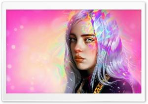 Billie Eilish FanArt Ultra HD Wallpaper for 4K UHD Widescreen desktop, tablet & smartphone