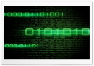 Binary Code HD Wide Wallpaper for Widescreen