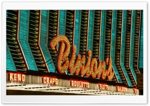 Binion's Casino HD Wide Wallpaper for 4K UHD Widescreen desktop & smartphone