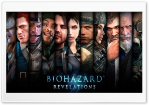 Biohazard Revelations HD Wide Wallpaper for Widescreen