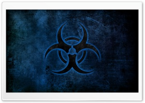 Biohazard Symbol HD Wide Wallpaper for Widescreen