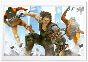 Bionic Commando HD Wide Wallpaper for Widescreen