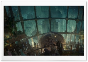 Bioshock 2 1959 HD Wide Wallpaper for Widescreen