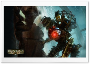 Bioshock 2 BigSis HD Wide Wallpaper for Widescreen