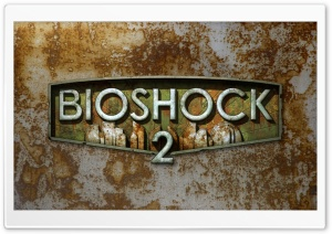 Bioshock 2 Logo HD Wide Wallpaper for Widescreen