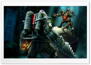 BioShock 3 Artwork HD Wide Wallpaper for Widescreen