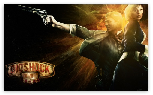 Bioshock Infinite HD wallpaper for Wide 5:3 Widescreen WGA ; HD 16:9 High Definition WQHD QWXGA 1080p 900p 720p QHD nHD ; Mobile 5:3 16:9 - WGA WQHD QWXGA 1080p 900p 720p QHD nHD ;