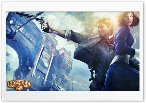 BIOSHOCK INFINITE 2013 GAME HD Wide Wallpaper for 4K UHD Widescreen desktop & smartphone