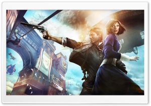 Bioshock Infinite HD Wide Wallpaper for Widescreen