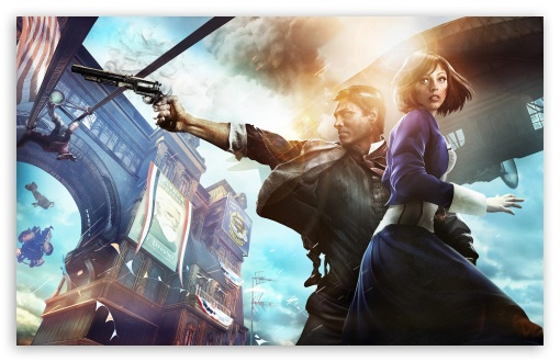 Bioshock Infinite HD wallpaper for Wide 16:10 5:3 Widescreen WHXGA WQXGA WUXGA WXGA WGA ; HD 16:9 High Definition WQHD QWXGA 1080p 900p 720p QHD nHD ; Standard 4:3 5:4 3:2 Fullscreen UXGA XGA SVGA QSXGA SXGA DVGA HVGA HQVGA devices ( Apple PowerBook G4 iPhone 4 3G 3GS iPod Touch ) ; Tablet 1:1 ; iPad 1/2/Mini ; Mobile 4:3 5:3 3:2 16:9 5:4 - UXGA XGA SVGA WGA DVGA HVGA HQVGA devices ( Apple PowerBook G4 iPhone 4 3G 3GS iPod Touch ) WQHD QWXGA 1080p 900p 720p QHD nHD QSXGA SXGA ; Dual 16:10 5:3 16:9 4:3 5:4 WHXGA WQXGA WUXGA WXGA WGA WQHD QWXGA 1080p 900p 720p QHD nHD UXGA XGA SVGA QSXGA SXGA ;