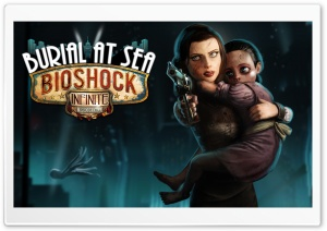 BioShock Infinite Burial at Sea - Episode 2 HD Wide Wallpaper for Widescreen