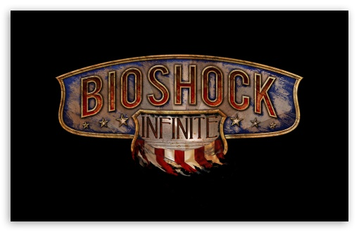 BioShock Infinite Logo HD wallpaper for Wide 16:10 5:3 Widescreen WHXGA WQXGA WUXGA WXGA WGA ; HD 16:9 High Definition WQHD QWXGA 1080p 900p 720p QHD nHD ; UHD 16:9 WQHD QWXGA 1080p 900p 720p QHD nHD ; Standard 4:3 5:4 3:2 Fullscreen UXGA XGA SVGA QSXGA SXGA DVGA HVGA HQVGA devices ( Apple PowerBook G4 iPhone 4 3G 3GS iPod Touch ) ; Tablet 1:1 ; iPad 1/2/Mini ; Mobile 4:3 5:3 3:2 16:9 5:4 - UXGA XGA SVGA WGA DVGA HVGA HQVGA devices ( Apple PowerBook G4 iPhone 4 3G 3GS iPod Touch ) WQHD QWXGA 1080p 900p 720p QHD nHD QSXGA SXGA ; Dual 16:10 5:3 16:9 4:3 5:4 WHXGA WQXGA WUXGA WXGA WGA WQHD QWXGA 1080p 900p 720p QHD nHD UXGA XGA SVGA QSXGA SXGA ;