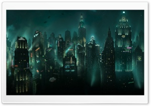 BioShock Rapture HD Wide Wallpaper for Widescreen