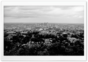 Birmingham Black and White HD Wide Wallpaper for Widescreen