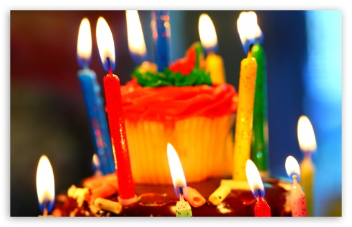 Birthday Cake and Candles HD wallpaper for Wide 16:10 5:3 Widescreen WHXGA WQXGA WUXGA WXGA WGA ; Standard 4:3 5:4 3:2 Fullscreen UXGA XGA SVGA QSXGA SXGA DVGA HVGA HQVGA devices ( Apple PowerBook G4 iPhone 4 3G 3GS iPod Touch ) ; Tablet 1:1 ; iPad 1/2/Mini ; Mobile 4:3 5:3 3:2 16:9 5:4 - UXGA XGA SVGA WGA DVGA HVGA HQVGA devices ( Apple PowerBook G4 iPhone 4 3G 3GS iPod Touch ) WQHD QWXGA 1080p 900p 720p QHD nHD QSXGA SXGA ;