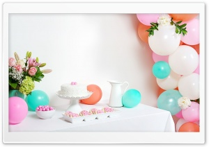 Birthday Party HD Wide Wallpaper for 4K UHD Widescreen desktop & smartphone