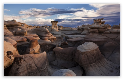 Bisti Badlands, San Juan County, New Mexico, US HD wallpaper for Wide 16:10 5:3 Widescreen WHXGA WQXGA WUXGA WXGA WGA ; HD 16:9 High Definition WQHD QWXGA 1080p 900p 720p QHD nHD ; Standard 4:3 5:4 3:2 Fullscreen UXGA XGA SVGA QSXGA SXGA DVGA HVGA HQVGA devices ( Apple PowerBook G4 iPhone 4 3G 3GS iPod Touch ) ; Tablet 1:1 ; iPad 1/2/Mini ; Mobile 4:3 5:3 3:2 16:9 5:4 - UXGA XGA SVGA WGA DVGA HVGA HQVGA devices ( Apple PowerBook G4 iPhone 4 3G 3GS iPod Touch ) WQHD QWXGA 1080p 900p 720p QHD nHD QSXGA SXGA ; Dual 16:10 5:3 16:9 4:3 5:4 WHXGA WQXGA WUXGA WXGA WGA WQHD QWXGA 1080p 900p 720p QHD nHD UXGA XGA SVGA QSXGA SXGA ;