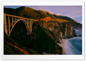 Bixby Bridge HD Wide Wallpaper for Widescreen