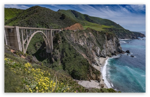 Bixby Creek Arch Bridge, Big Sur coast of California ❤ 4K UHD Wallpaper for Wide 16:10 5:3 Widescreen WHXGA WQXGA WUXGA WXGA WGA ; UltraWide 21:9 24:10 ; 4K UHD 16:9 Ultra High Definition 2160p 1440p 1080p 900p 720p ; UHD 16:9 2160p 1440p 1080p 900p 720p ; Standard 4:3 5:4 3:2 Fullscreen UXGA XGA SVGA QSXGA SXGA DVGA HVGA HQVGA ( Apple PowerBook G4 iPhone 4 3G 3GS iPod Touch ) ; Smartphone 16:9 3:2 5:3 2160p 1440p 1080p 900p 720p DVGA HVGA HQVGA ( Apple PowerBook G4 iPhone 4 3G 3GS iPod Touch ) WGA ; iPad 1/2/Mini ; Mobile 4:3 5:3 3:2 16:9 5:4 - UXGA XGA SVGA WGA DVGA HVGA HQVGA ( Apple PowerBook G4 iPhone 4 3G 3GS iPod Touch ) 2160p 1440p 1080p 900p 720p QSXGA SXGA ;
