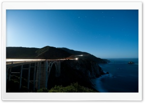 Bixby Creek Bridge, Big Sur, California HD Wide Wallpaper for Widescreen